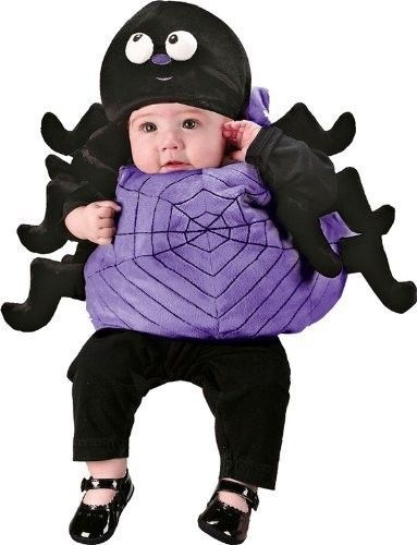 NEW Silly Spider Infant Boy Girl Dress Up Costume with Hat Size 12-24 months