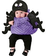 NEW Silly Spider Infant Boy Girl Dress Up Costume with Hat Size 12-24 mo... - $200,49 MXN