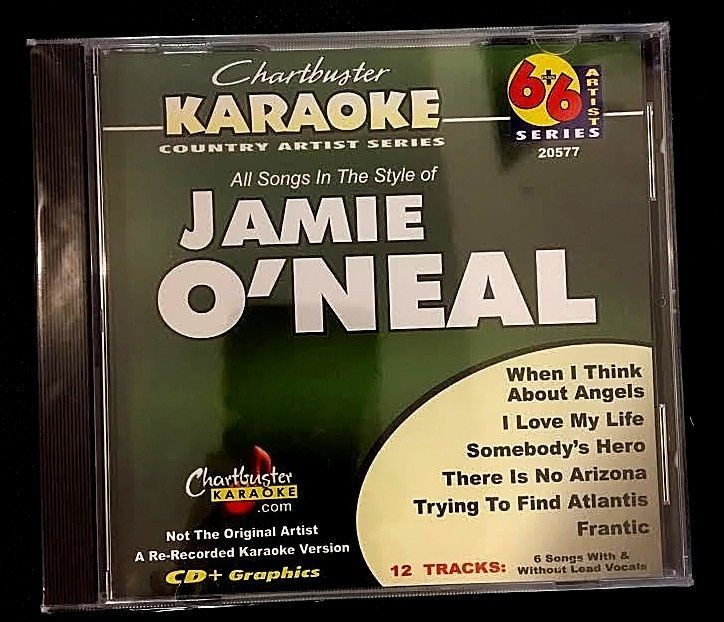Primary image for CHARTBUSTER 6+6 KARAOKE DISC 20577 JAMIE O'NEAL MULTIPLEX SEALED!