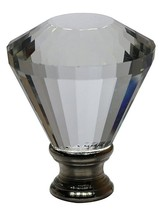 "Urbanest Crystal Diana Lamp Finial, 2"" Tall image 1"