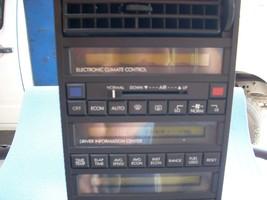 1989 CADILLAC ALLANTE RADIO  image 2