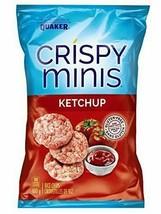 12x Quaker Crispy Minis Ketchup 100g/3.52oz EACH Canada ALWAYS FRESH! - $55.39