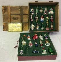 Thomas Pacconi Museum Thomas Series 29 Glass Blown Christmas Ornaments W... - $55.63