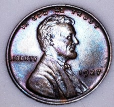 1927- UNC++ RED Lincoln Wheat Cent*  Beautiful Luster *. C22 - $34.30