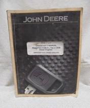 John Deere Operators Manual 4.5/6.8L Tier 2 OEM Diesel Engines - $39.60