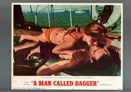 MAN CALLED DAGGER-1968-LOBBY CARD #8-TERRY MOORE-THRILLER VG - $17.46