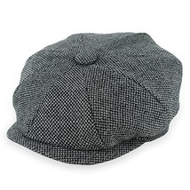 Belfry Groby Men's Soft Wool Newsboy Cap in 4 Sizes and 5 Colors XLarge,... - $38.49
