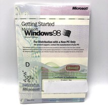 Microsoft Windows 98 SE Second Edition Full Operating System Sealed Unop... - $71.98