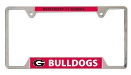 Georgia Bulldogs Heavy Duty Chrome Metal License Plate Frame - $13.95
