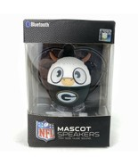 Bitty Boomers Green Bay Packers Bluetooth NFL Mascot Speaker in Box Wire... - $24.49