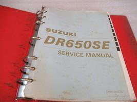 Suzuki 1996 DR650SE Service Manual Binder P/N 99500-46030-03E - $37.86
