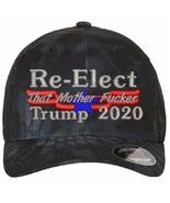Donald Trump Hat - Re-elect that Mother Fu**e 6277 Kryptek Flex Fit Hat S/M L/XL - $22.99
