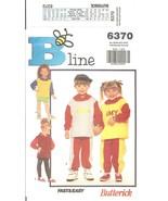 Butterick #6370 Children's Top Skirt Pants Leggings Pattern Size 2-6X UN... - $8.47
