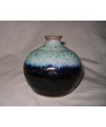 Fabrile Studios Vase Pottery Decor Big Bear CA Signed 02244 - $59.00