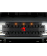 Steel Grille for Ford Super Duty F250,F350,F450 17-19 Spartan Red Amber LED - $989.95