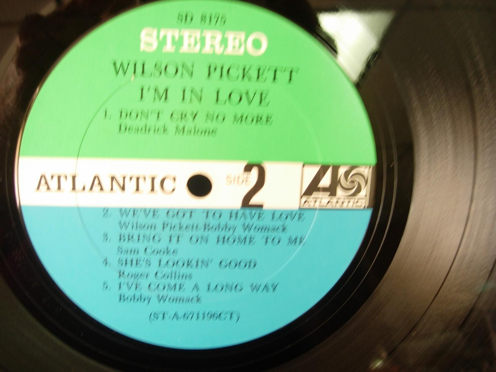 Wilson Pickett - I'm In Love - Atlantic Records SD 8175