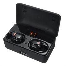 TWS Stereo HiFi bluetooth 5.0 Headphones Touch IPX6 Waterproof LED Power... - $58.46