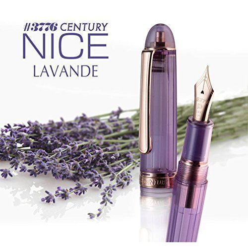 Platinum Fountain Pen #3776 CENTURY NICE PNB-20000R #87 LAVANDE Broad from Japan