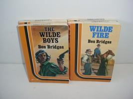 Lot of 4 Ben Bridges Large Print Western Paper Back Books - $19.70