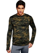 Duofold by Champion Brushed Back Men's Crew Prints Thermal Shirt -3 COLO... - $32.99