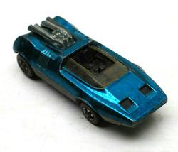 Vintage 1969 Hot Wheels Redline Peeping Bomb Metallic Blue Die Cast Car ... - $42.06