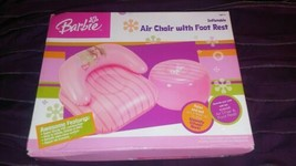 Vintage Mattel Barbie Air Chair With Foot Rest NEW!  - $23.48