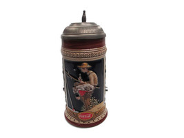 Coca-Cola Norman Rockwell Out Fishing Stein - BRAND NEW - $113.85