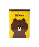 Korea LINE Friends BROWN Character Band-Aid Bandage 40 sheets Tin Case N... - $9.48