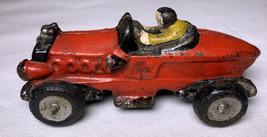 Cast Iron Racecar Toy Antique - $19.28