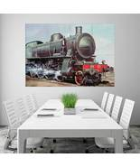 Wall Poster Art Giant Picture Print Locomotives 0284PB - $22.99