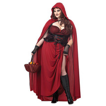 California Costumes PLUS Women's Dark Red Riding Hood Fantasy Adult Costume - $54.95