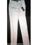 New NWT 4 Designer Womens Italy Dolce & Gabbana White Pants Trouser 40 T... - $158.00