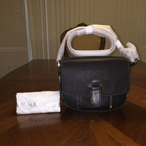 NWT Michael Kors Medium Romy Messenger Crossbody in Black - $167.98