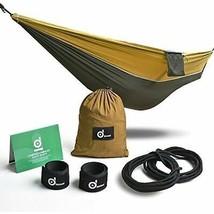 Odoland Camping Hängematte Außen Leicht Tragbar Nylon Hängematte Wandbeh... - $25.45