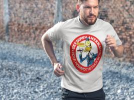 Howard Duck Dri Fit graphic Tshirt moisture wick SPF retro comic book Sun Shirt image 4