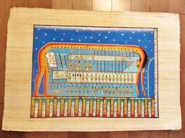 XXL Signed Handmade Papyrus Egyptian Celestial Goddess NUT Art Painting.... - $74.25