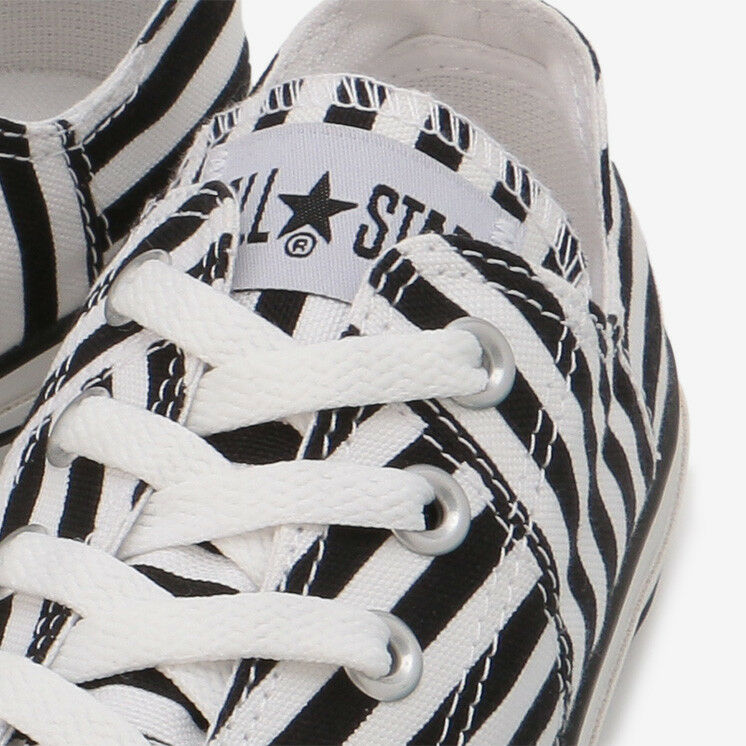 CONVERSE ALL STAR MXBORDER OX White Black Stripe Chuck Taylor Japan Exclusive