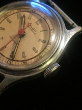 "Vintage Silver Ralco by Movado  1 1/8"" watch (No band)  image 4"