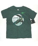 Nike Boys T-Shirt Green Space Ship Size 4 or 5 NWT - $17.99