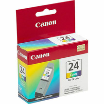 Canon BCI-24C Color Ink Cartridge (6882A003) For i250 i350 i450 i470 i470D - $30.64