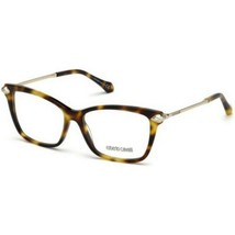 New Roberto Cavalli Eyeglasses Size 53mm 140mm 15mm New With Case - $57.59