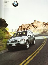 2001 BMW X5 SAV sales brochure catalog US 01 3.0i 4.4i - $10.00