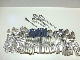 76 Pc Oneida Community MORNING STAR Silverplate Flatware Service 12 Extr... - $148.49