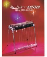 ORIGINAL Vintage 1975 Gretsch Sho Bud Steel Guitars Catalog - $39.59