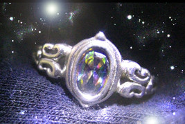 HAUNTED RING THE MASTER WITCH UNMASKS & REVEALS ALL ENEMIES OOAK MAGICK ... - $8,977.77