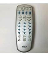 Genuine RCA R3150 Grey TV Remote Control RCU704MSP2N Tested Works - $15.01