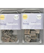 Scrapbook Embellishments Antique Gold Debossed Alpha by ScrapEssentials ... - $14.85