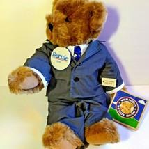 Vermont Teddy Bear Co Bernie Sander 2016 Special Edition 16'' Plush Hand... - $123.75