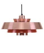 NOVA copper pendant light by Jo Hammerborg, 1963, Fog & Morup.  - $873.00