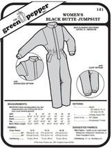 Women's Black Butte Jumpsuit Snowsuit Ladies #141 (Sewing Pattern Only) ... - $6.93